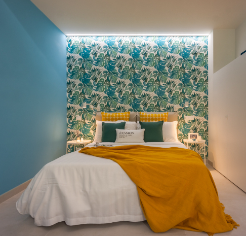 Vatican Blue Apartment Stagero