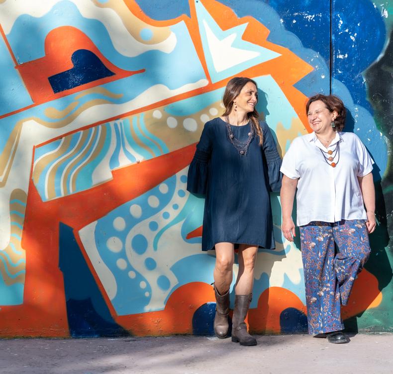 Stagero Roberta Anfora e Monica Fraschetti Murales